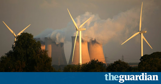 UK wind power overtakes coal for first time | Business | The Guardian