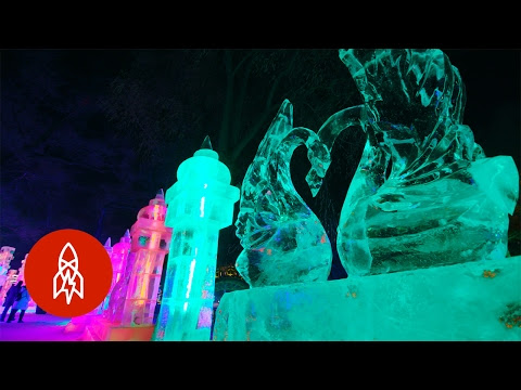 The Harbin International Ice and Snow Sculpture Festival is Pretty Cool!
