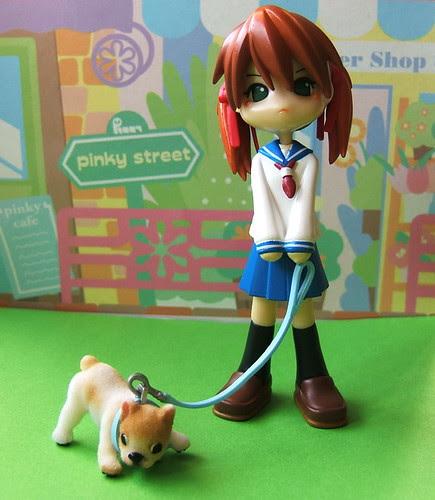 Rui with dog
