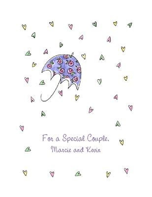 Wishes to Special Couple Greeting Card   Bridal Shower