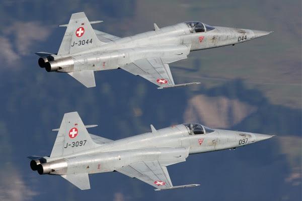 Northrop F-5E Tiger II - Fuerza Aérea Suiza