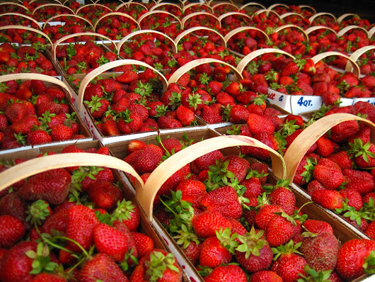 Simple pleasures, local strawberries! - Buy Haywood
