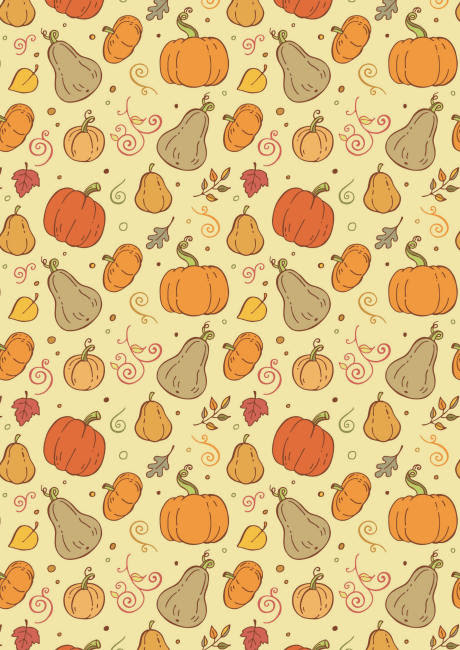 Autumn harvest scrapbook paper 2