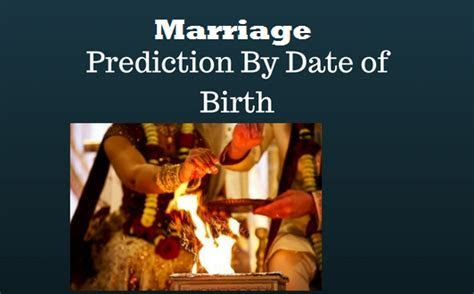astrology marriage prediction