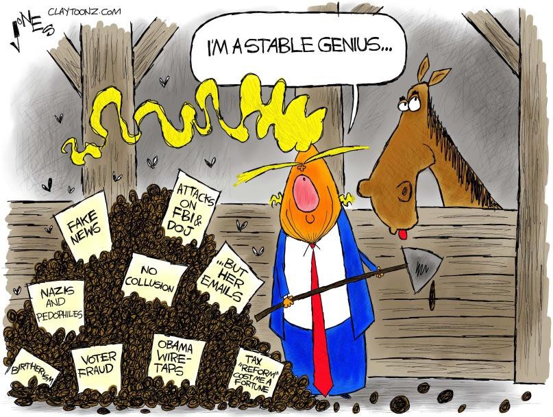 The stable genius