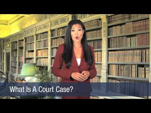What Is A Court Case