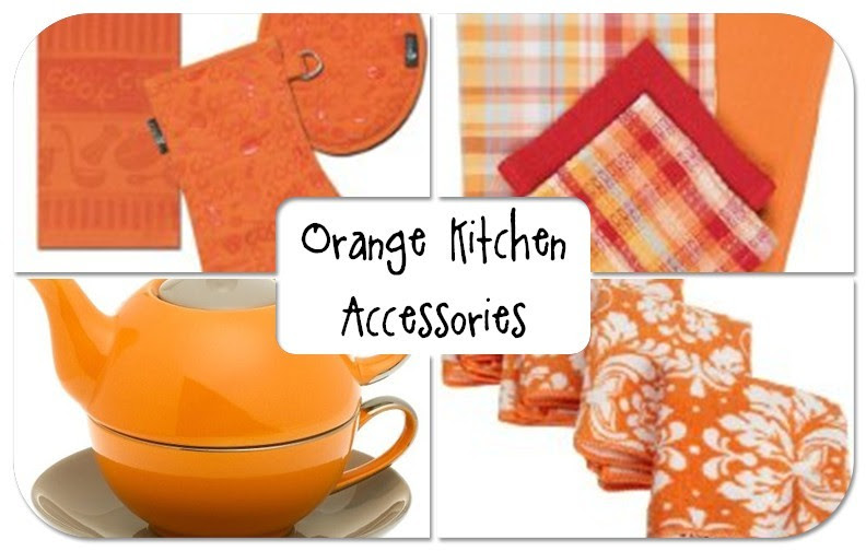 Orange Home Appliances | Orange Kitchen Decor