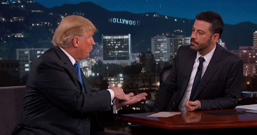 "Jimmy Kimmel Takes on Donald Trump, Says He's ""Un-American"" - Us Weekly"
