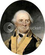 portrait of General Daniel Morgan, hero of Saratoga and Cowpens