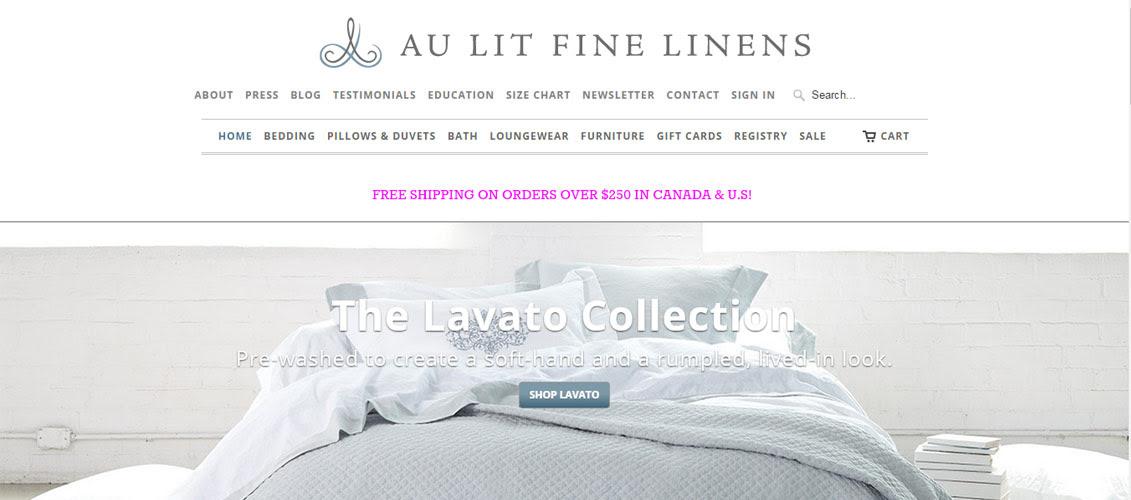 Au-Lit-Fine-Linens