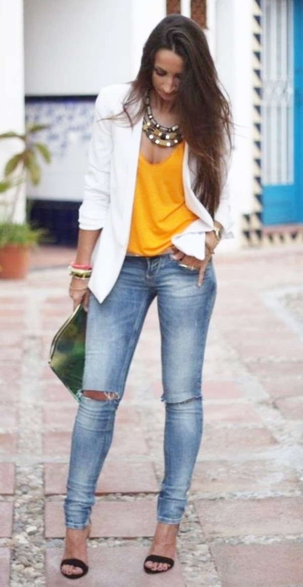 45 casual work outfits for women in their 40s