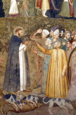 Resultado de imagen de frailes dominicos predicando