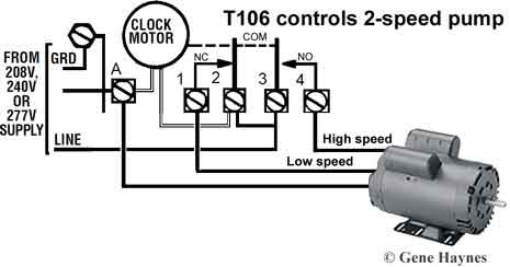 How To Wire T106 Timer