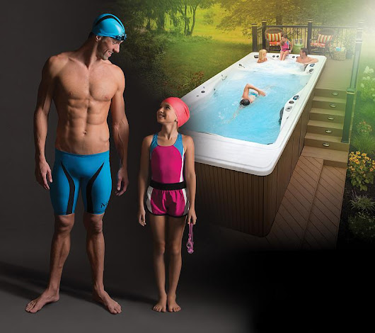 Hot tub product series: Michael Phelps Signature Swim Spas - NHT
