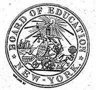 New York Board of Education seal