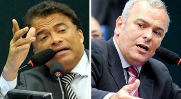 Wladimir Costa e Júlio Delgado vão se enfrentar novamente na Câmara