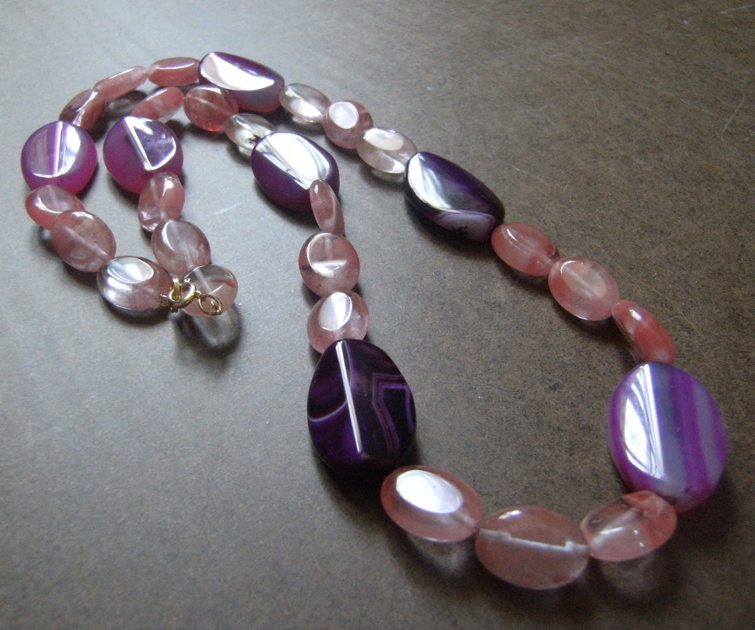 Girl About Town Beaded necklace