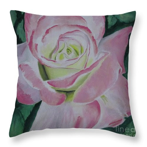 Arizona Rose Throw Pillow