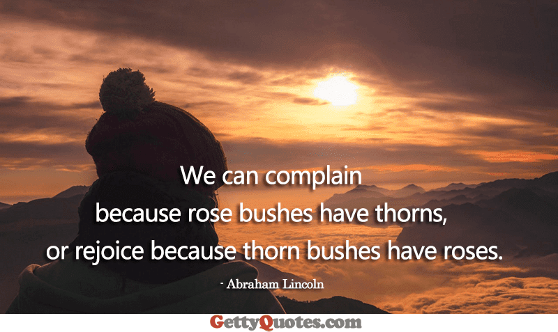 We Can Complain All The Best Quotes At Gettyquotes