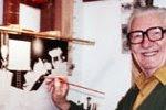 Carl Barks 1973 - photo Mark Evanier - click
