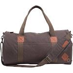 Alternative Basic Cotton Barrel Duffel Bag OS Charcoal , Alternative Apparel