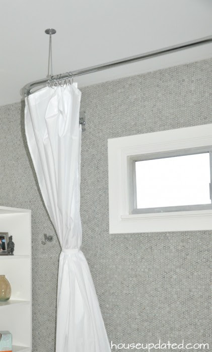 L-Rod in the Shower - House Updated