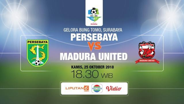 Live Persebaya Vs Madura United
