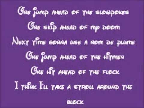 Aladdin One Jump Ahead Lyrics Original