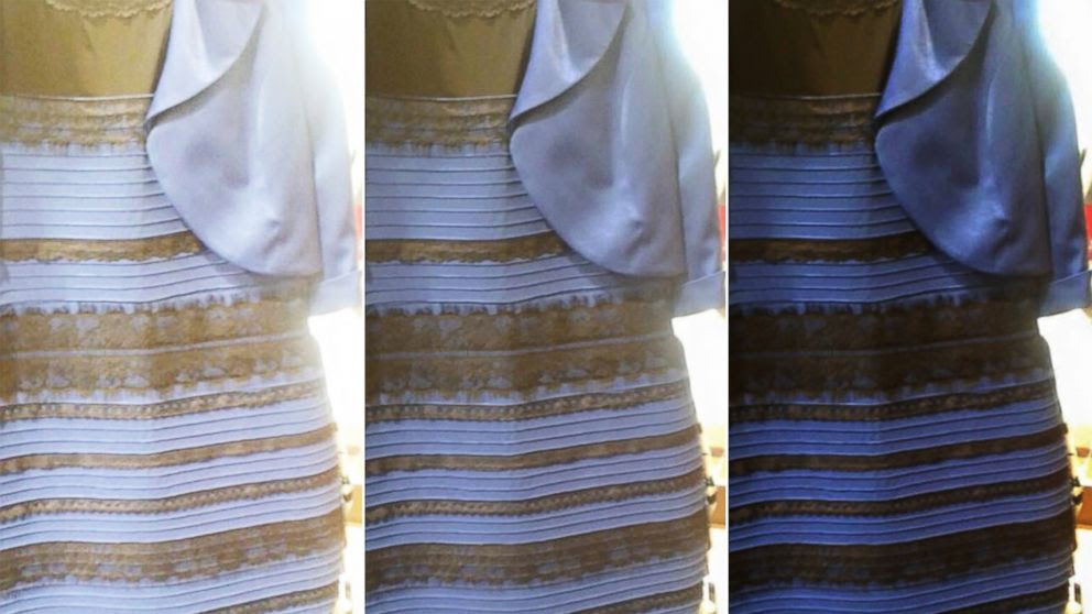 White And Gold Or Black And Blue: Why People See the Dress ...