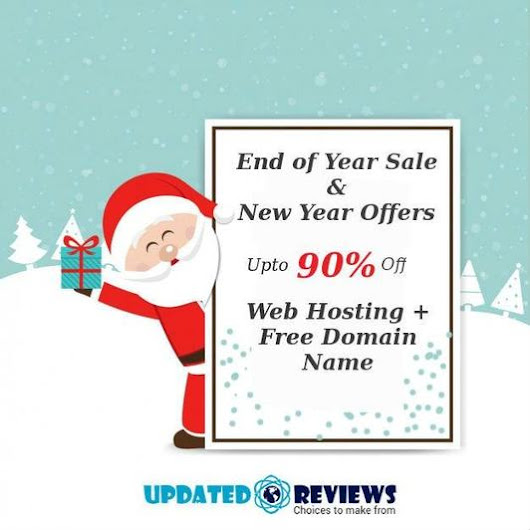 Best Year End 2017 & New Year 2018 Deals OFFERS & Discounts from Top Web Hosting Companies – UpdatedReviews