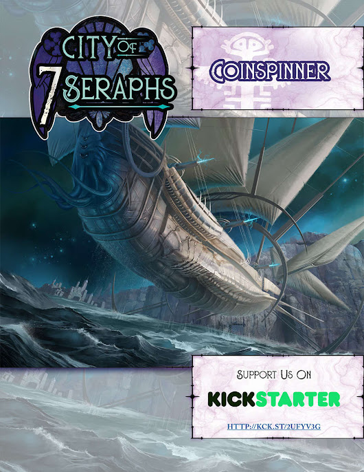 City of 7 Seraphs - Coinspinner Preview
