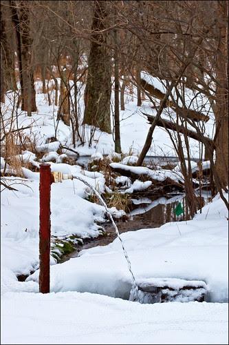 Artesian Well in Winter