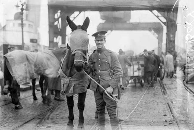 File:British cavalry regiment leaving Ireland 1922.jpg