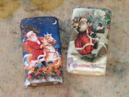 25 Days of Hand Crafted Gifts & Ornaments - Bamboo Tile Charms 005