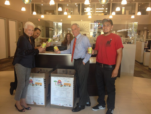 Coldwell Banker Collects Over Four Tons of Food to Feed Hungry Kids | California Home