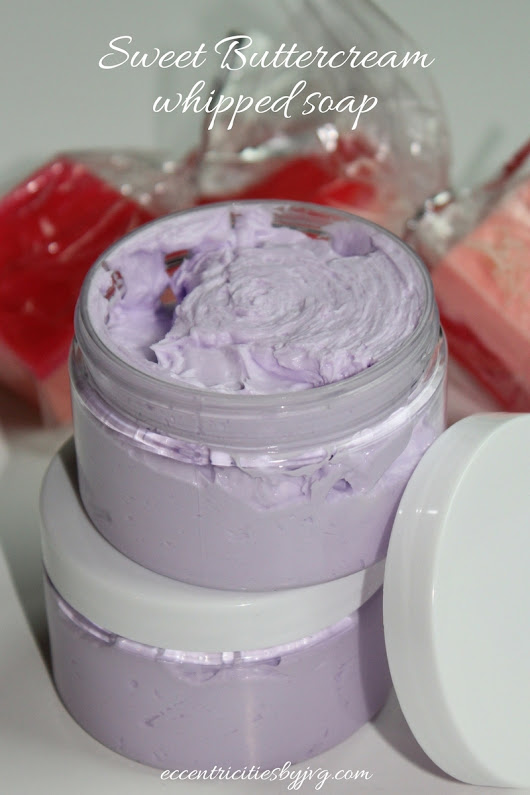 Sweet Buttercream whipped soap - Eccentricities by JVG