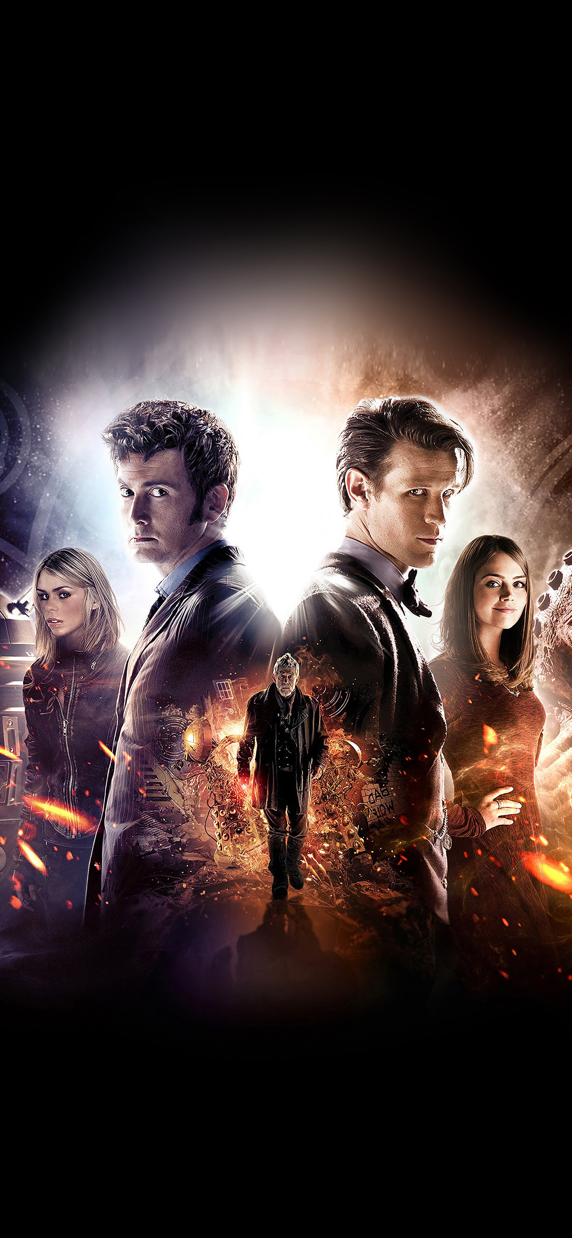 Ac28 Wallpaper Doctor Who 50th Poster Film Face