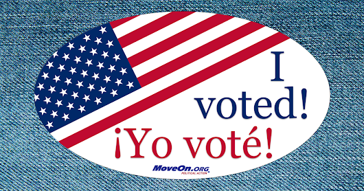 Let your friends know you voted! Share this image now