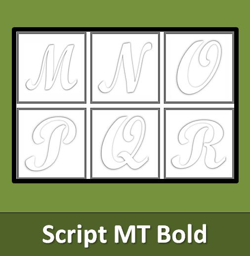 Basteln Alphabet Einzelne Buchstaben Zum Ausdrucken