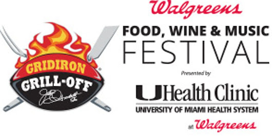 Walgreens Gridiron Grill-Off Food, Wine & Music Festival