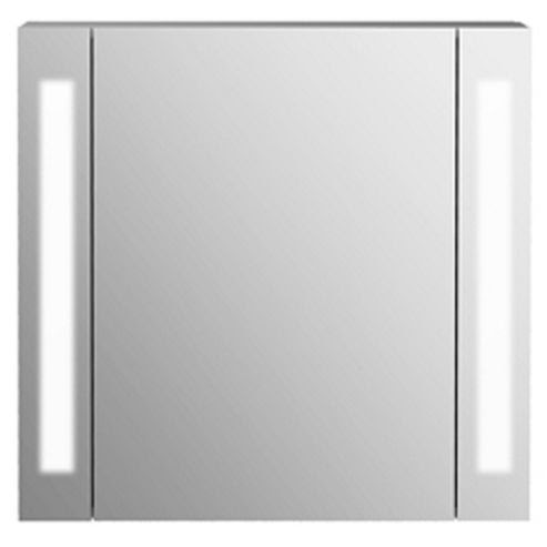 Buy Odyssey Mirror Bathroom Cabinet / Shaver Socket / Lights White ...