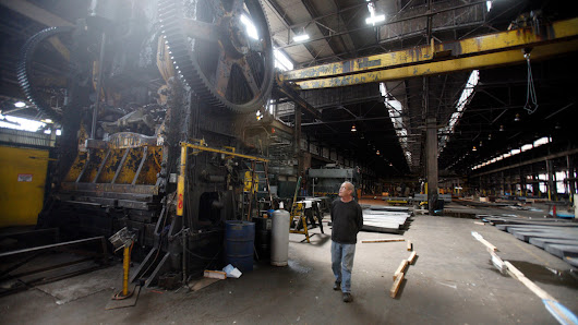 Boom in Energy Spurs Industry in the Rust Belt