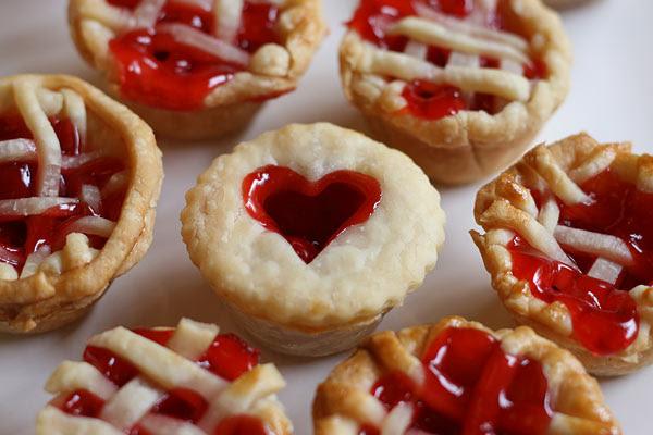 Mini Cherry Cutie Pies