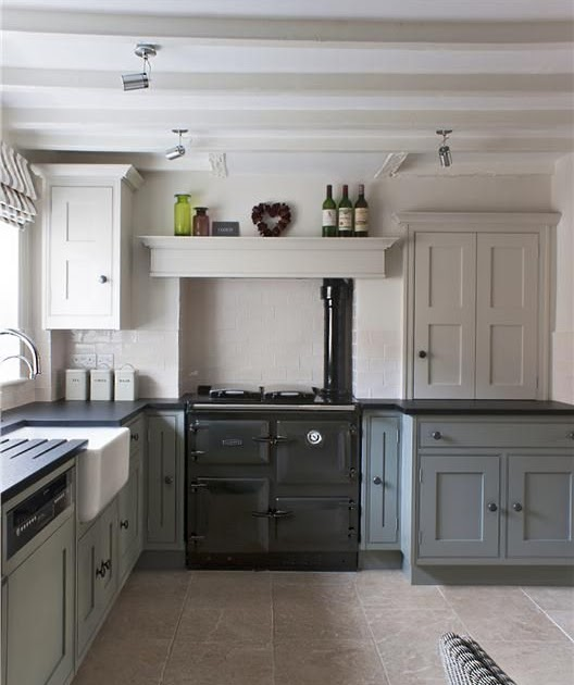 Farrow And Ball Kitchen Cabinets: Modern Country Style: Farrow And Ball Shaded White With