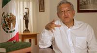 Obrador en su mensaje semanal. Foto: Youtube.com
