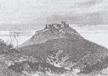 Хустський замок - малюнок Г. Паура