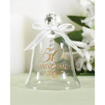 50th Anniversary Glass Bell PA74185