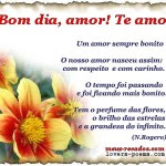 Bom Dia Amor Eu Te Amo Orizanet Portal Gifs By Oriza Frases