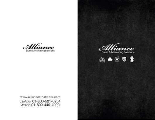 Alliance Sales and Marketing Solutions ARDA World Brochure
