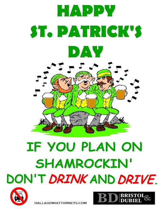 No Refusal Weekend! St. Patrick's Day Weekend 2014